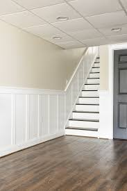 beautiful staircase board and batten