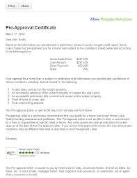 Image Result For Sample Mortgage Pre Approval Letter Restaurant
