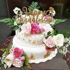 Jual Fondant Cake Kue Ulang Tahun Fondant Rustic Cake Kota