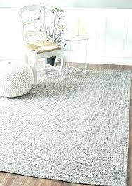 grey faux fur rug 8 10 by pink target brown area