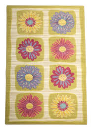 girls room area rug. Daisy Flowers Girls Room Area Rug-Area Rugs-Rug Shop And More Rug