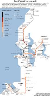 Seattle Transit Map Light Rail Could Sound Transit Build Light Rail Faster It Wouldnt Be