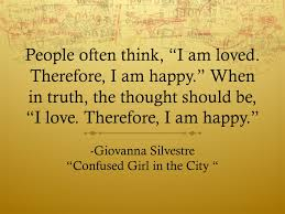 Confused Girl In The City Quote About Love Quote Lovequote
