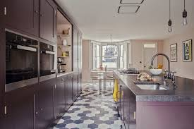 Kitchen Westbourne Grove Modern Highbury Barn Kitchen With An Osea Island And Honed Belgian
