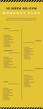 220 best workout images on weekly exercise plan for fitness and weight loss at home