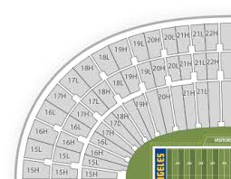 Los Angeles Coliseum Seating Chart Download Hd Detailed Los Angeles Coliseum Seating Chart