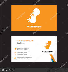 Baby Business Card Design Stock Vector Sabinarahimova 193840454