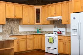 Natural Maple Shaker Style San Jose Hayward Kz Kitchen Cabinets
