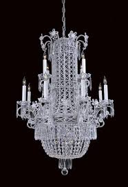 silver asfour egyptian crystal glass up chandelier