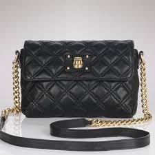 73% off Marc Jacobs Handbags - Marc Jacobs Black Leather Quilted ... & Marc Jacobs Black Leather Quilted Cross body bag Adamdwight.com
