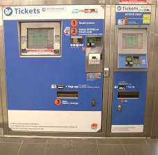 How To Use Ticket Vending Machine In Railway Station Amazing No Ticket To Ride At Sydney Train Station
