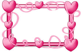 borders and frames picture frames heart clip art pink border