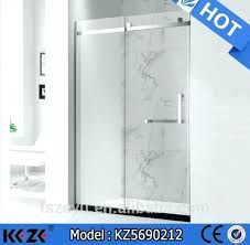 cleaning tempered glass shower doors easy cleaning tempered curved glass shower enclosure how to clean tempered