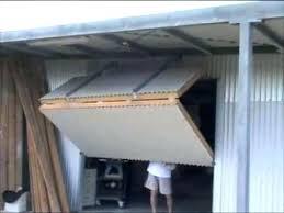 folding garage doors. Perfect Folding Bi Fold Garage Doors Hangar Style Door On My Shed 2 Regarding    For Folding Garage Doors