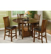 mackenzie round pub table set