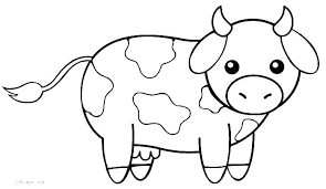 Free Colouring Pages Animals Farm Printable Farm Animals Coloring