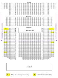 Nj Pac Seating Chart Seating Chart Bergen Performing Arts Center