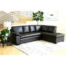 abbyson leather sectional leather tufted sectional abbyson hampton leather sectional