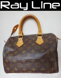 louis vuitton used bags. louis vuitton authentic monogram speedy 25 boston m41528lv16-3247 ◇ used bags