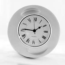 r desk clock  raw  plane pieces  touch of modern