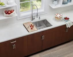 elkay lkc17hw wood single basin hardwood cutting board designed to fit all crosstown kitchen sinks faucet com