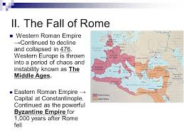 homework complete the dbq outline for tomorrow dbq essay on the  the fall of rome western r empire →continued to decline and collapsed in