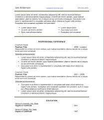 resume fonts and templates co resume style 3