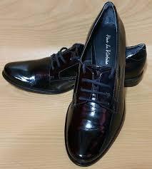 details about pour la victoire black patent leather oxfords womens shoes 8