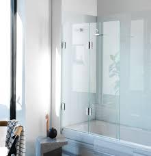 Diptych Bi Fold Bath Screen Frameless Glass Shower Screens. home decor  stores. diy home