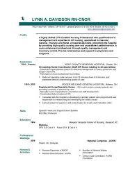 Sample Resume For Registered Nurse Australia Resume Ixiplay Free