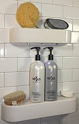 Corner Shower Subway Tile Shower Shelf Amazoncom Shower Shelf Shampoo Niche Recessed Showering Shelves Niches