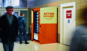 Get Free Food Out Vending Machines Awesome These Free Vending Machines Dispense Food And Clothes For The Homeless