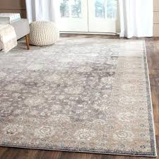 grey blue area rug brown and navy gray