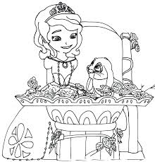 Small Picture Princess sofia coloring pages mermaid ColoringStar
