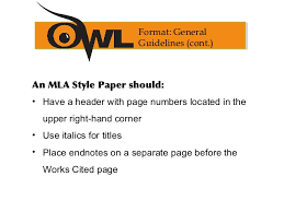citations in mla format mla formatting and citation guide