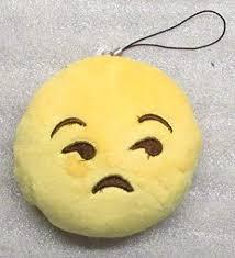 Amazon Com Emoji 3 In Sad Emoticon Frowning Soft Cloth