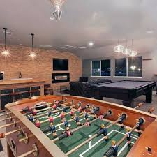 Masculine Man Cave Game Room Ideas For Men