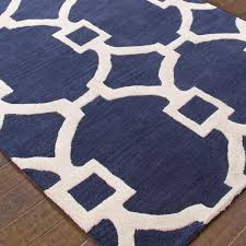 blue and white trellis rug designs