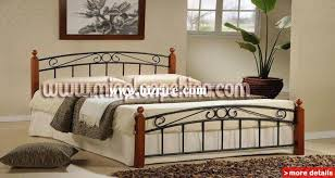 iron bed furniture. Wood And Metal Bedroom Furniture Po 7 Iron Bed R