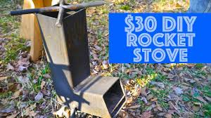 a 30 diy steel rocket camp stove