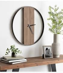 Antique farmhouse offers multiple sales events that include furniture, design lines, décor and art products at incredible savings focused around industrial decor, farmhouse decor, shabby chic, industrial vintage and vintage reproductions. Farmhouse Wall Decor Clock Modern Large Round Living Room Timepiece Minimal 24 Ebay
