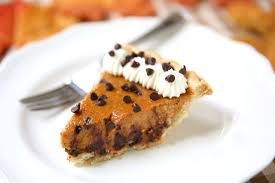 chocolate chip pie.  Chip Intended Chocolate Chip Pie C