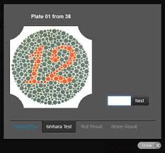 The color blind test uses rabkin's chart and is easily able to determine the ailment so that you could seek a doctor's help in time. Ishihara 38 Plates Cvd Test Colblindor