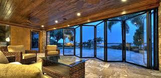 folding glass door cost sliding and stacking patio door folding aluminum double glazed folding exterior doors