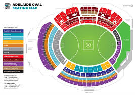 Uk Football Stadium Seating Chart Seating Map Port Adelaide Football Club Intended For Optus