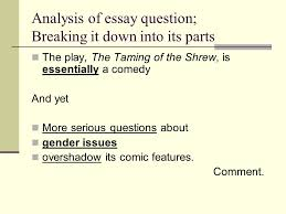 act i am asham d that women are so simple ppt  analysis of essay question breaking it down into its parts