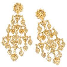 lule drop chandelier earrings