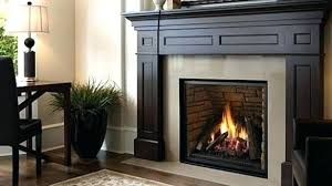 gas fireplace insert installation dimensions vent free