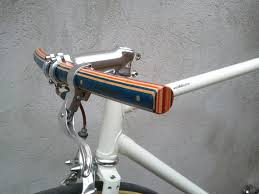 woodoocycles wooden handle bar pedals bike stand 9