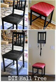 furniture repurpose. 4 make a hall tree furniture repurpose